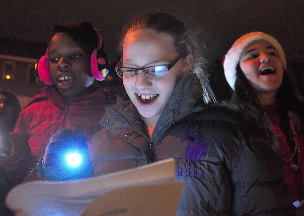 Middle School Caroling