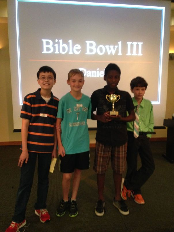 Bible Bowl III Winners
